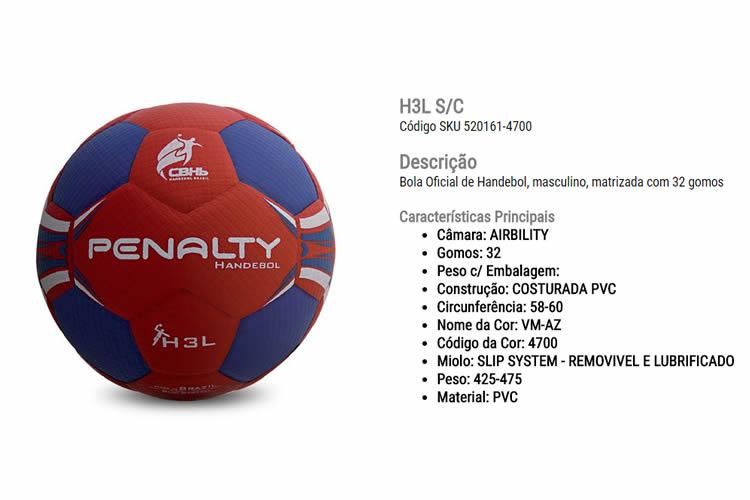 Bolas de Handebol – Renovação Esporte bdf7510be970f
