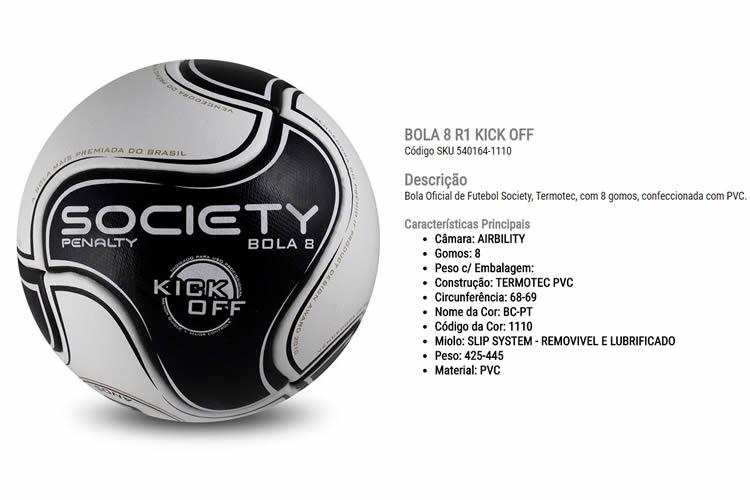 53f9e5637d Bolas de Futebol Society. Endereço  Av. Conselheiro Carrão
